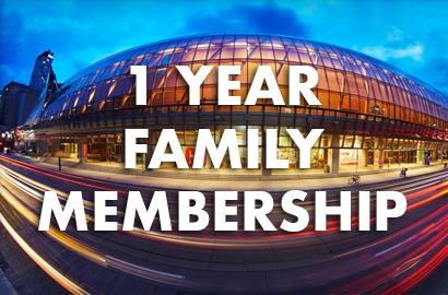 Family Membership: $72.50 for a 1-Year Family/Dual Membership