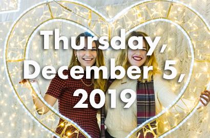 Thursday, December 5, 2019