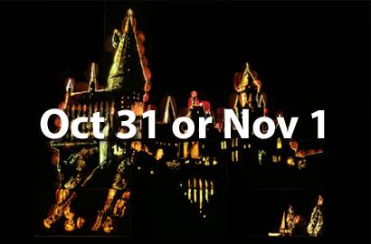 October 31 or November 1