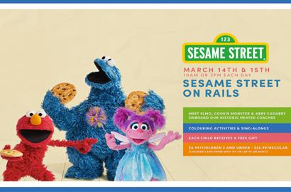 Sesame Street on Rails