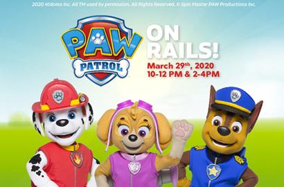 Paw Patrol on Rails