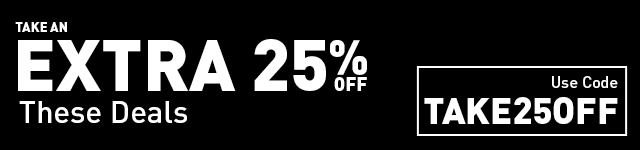 Take an Extra 25% Off Select Deals!