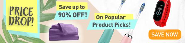 Price Drop on Popular Product Picks!
