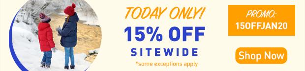 Save an Extra 15%
